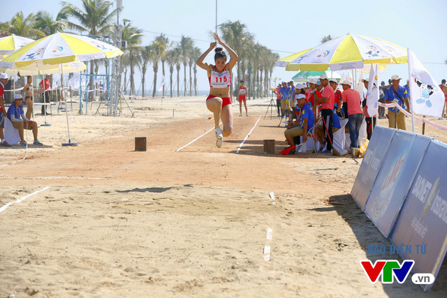 Điền kinh bãi biển Việt Nam giành HCV thứ 3 tại ABG 5-2016 - Ảnh 1.