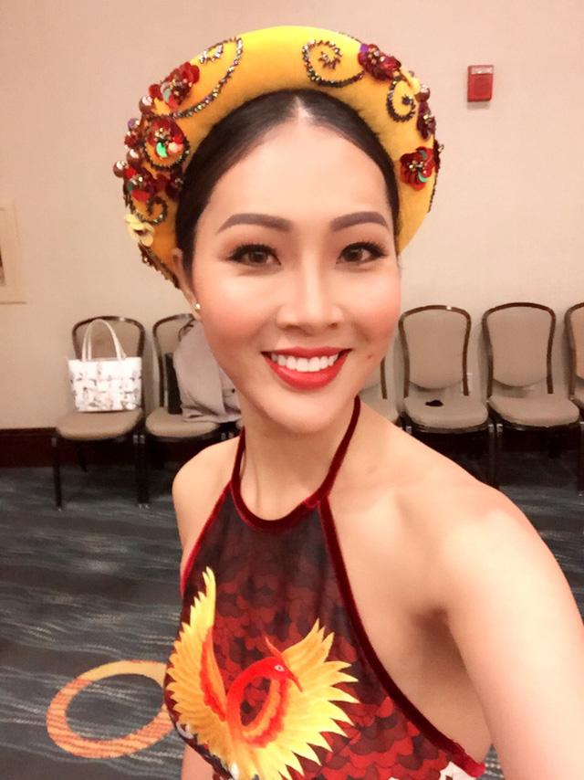 Diệu Ngọc gặp sự cố trước phần thi tài năng tại Miss World - Ảnh 2.