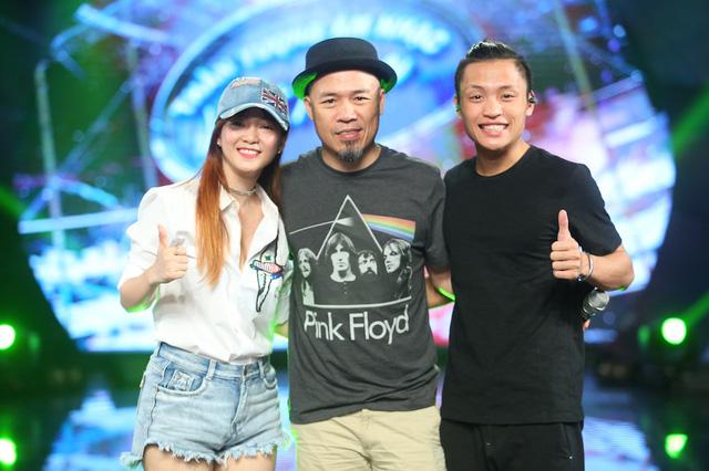 Đinh Hương và Hoàng Quyên rủ nhau khuấy động CK Vietnam Idol - Ảnh 1.