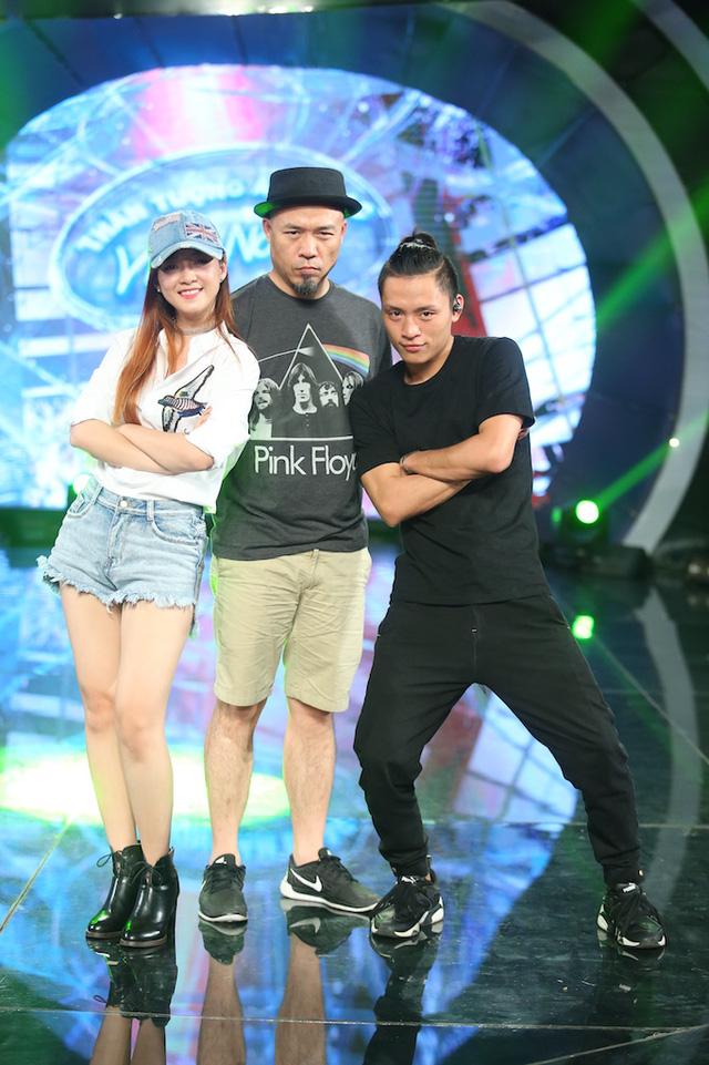 Đinh Hương và Hoàng Quyên rủ nhau khuấy động CK Vietnam Idol - Ảnh 2.