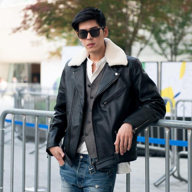 Màu đen cá tính phủ sóng thời trang đường phố Hàn Quốc - Ảnh 7.