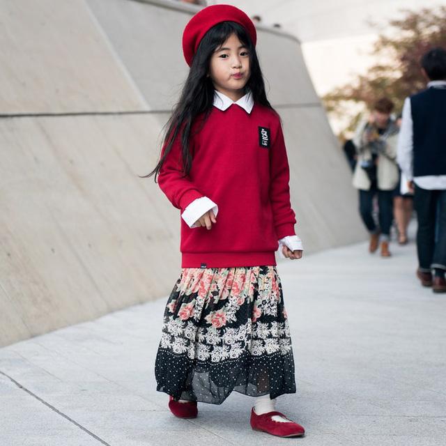 Tuần lễ thời trang Hàn Quốc: Trẻ con chất lừ không thua gì người lớn! - Ảnh 12.