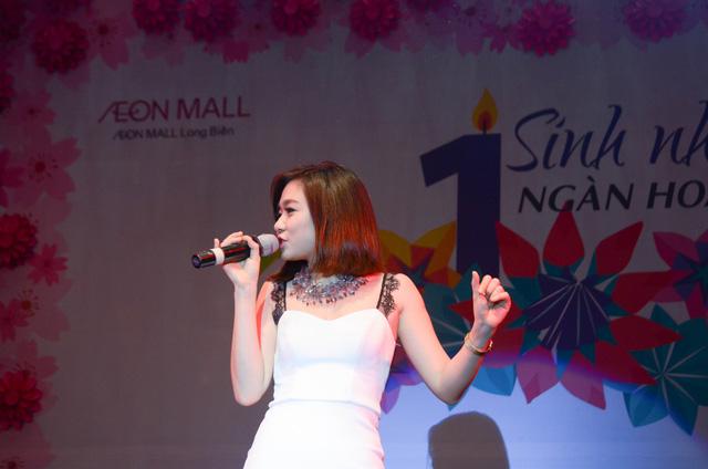 Cháy cùng Noo Phước Thịnh tại Sinh nhật ngàn hoa AEON MALL Long Biên - Ảnh 5.