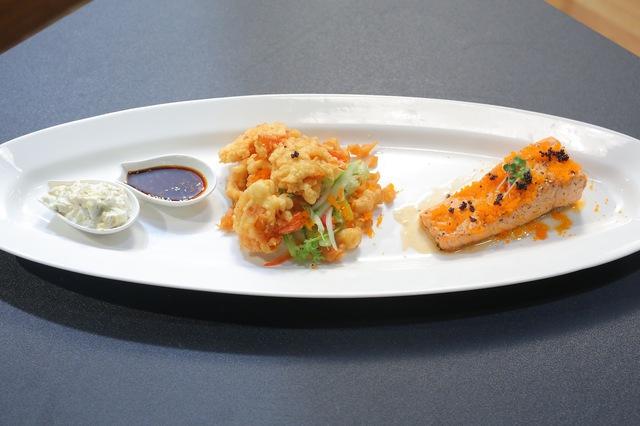 Vua đầu bếp nhí: Tự tin với món sushi, công chúa thỏ vẫn bị loại - Ảnh 9.