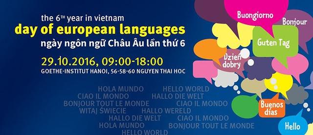 Ngày ngôn ngữ châu Âu lần thứ 6 tại Hà Nội - Ảnh 1.