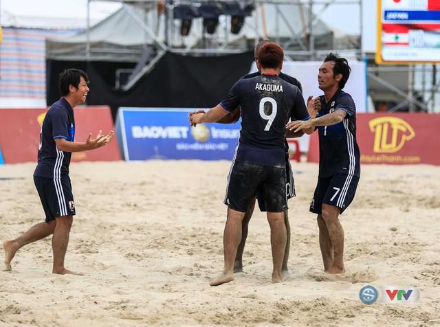 Bóng đá bãi biển ABG 2016: Nhật Bản gặp Oman trong trận chung kết - Ảnh 1.