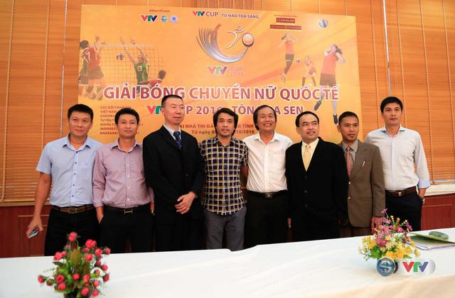 BTC họp kỹ thuật chuẩn bị chuyên môn VTV Cup 2016 Tôn Hoa Sen - Ảnh 3.