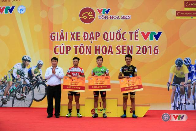 Ảnh: Khoảnh khắc ấn tượng chặng 8 Giải xe đạp quốc tế VTV Cúp – Tôn Hoa Sen 2016  - Ảnh 15.