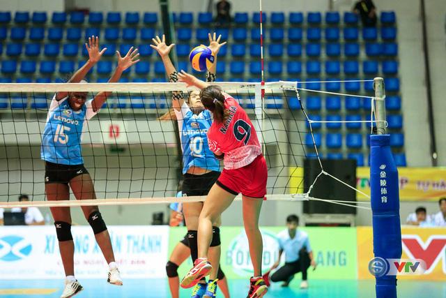 VTV Cup 2016 – Tôn Hoa Sen: CLB Chonburi (Thái Lan) vượt qua ĐT Indonesia sau 3 set  - Ảnh 2.