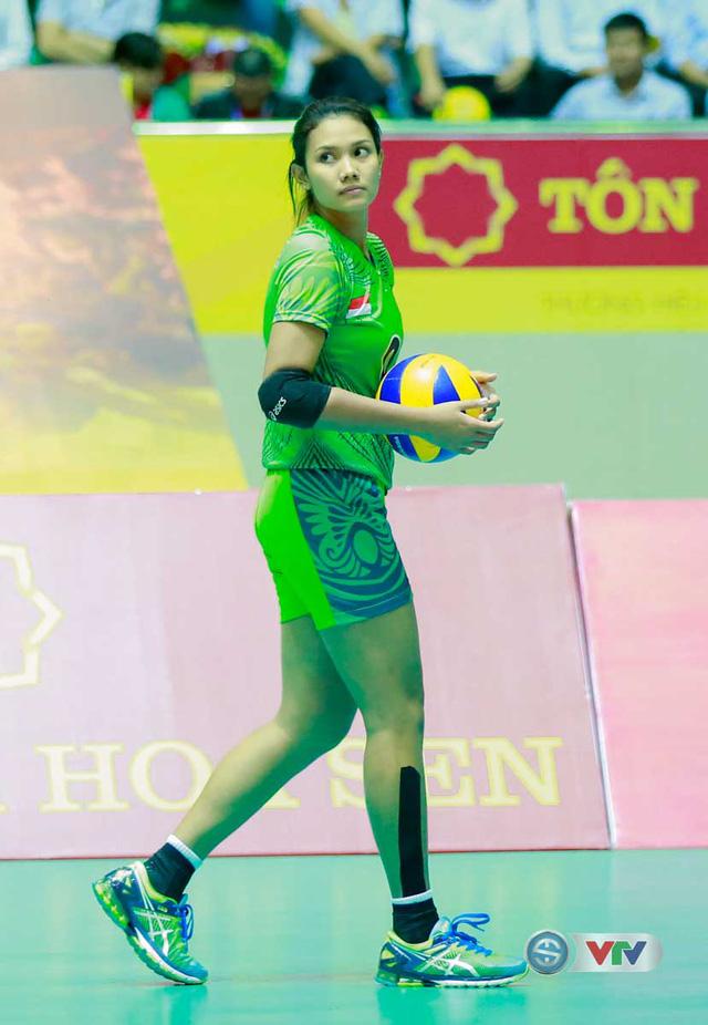 Ảnh: Chiêm ngưỡng vẻ đẹp trên sân đấu của Hoa khôi VTV Cup 2016 – Tôn Hoa Sen - Ảnh 7.