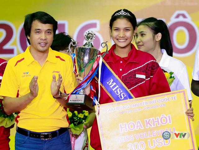 Ảnh: Những khoảnh khắc ấn tượng trong Lễ bế mạc VTV Cup 2016 - Tôn Hoa Sen - Ảnh 14.