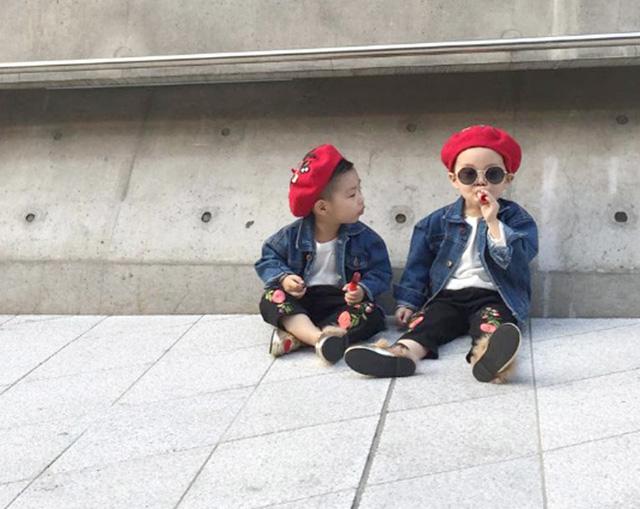 Tuần lễ thời trang Hàn Quốc: Trẻ con chất lừ không thua gì người lớn! - Ảnh 11.