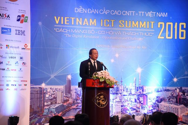Diễn đàn Cấp cao CNTT-TT Việt Nam 2016: Cần thay đổi tư duy quản trị phù hợp với xu hướng cách mạng công nghiệp lần thứ 4 - Ảnh 2.