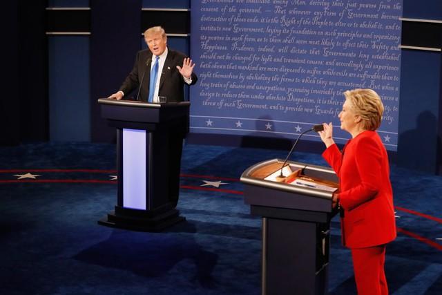 Tranh luận Trump - Clinton: Ai thắng ai? - Ảnh 1.