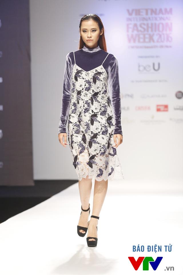 Ngọc Châu mở màn Tuần lễ thời trang quốc tế Việt Nam Thu - Đông 2016 - Ảnh 8.