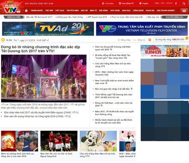 VTV News chính thức ra mắt giao diện mới - Ảnh 1.