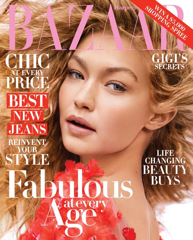 Gigi Hadid khoe vẻ trẻ trung trên Harpers Bazaar - Ảnh 5.