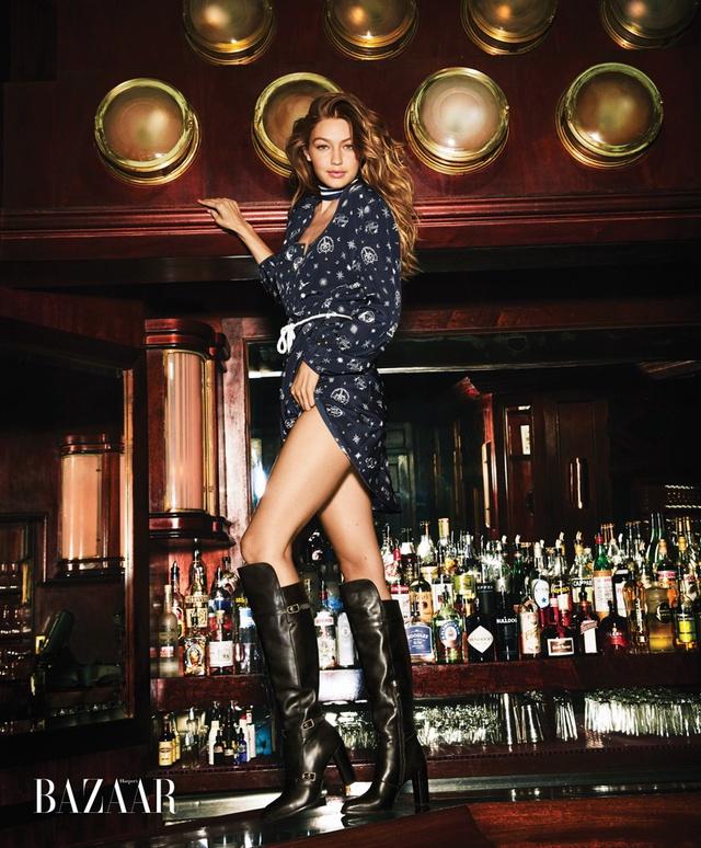 Gigi Hadid khoe vẻ trẻ trung trên Harpers Bazaar - Ảnh 7.