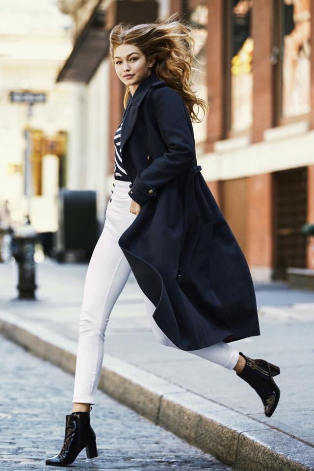 Gigi Hadid khoe vẻ trẻ trung trên Harpers Bazaar - Ảnh 9.