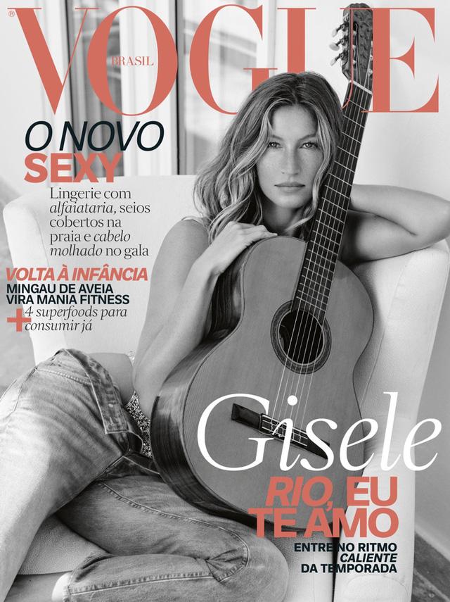 Gisele Bundchen tươi trẻ trên Vogue Brasil - Ảnh 5.