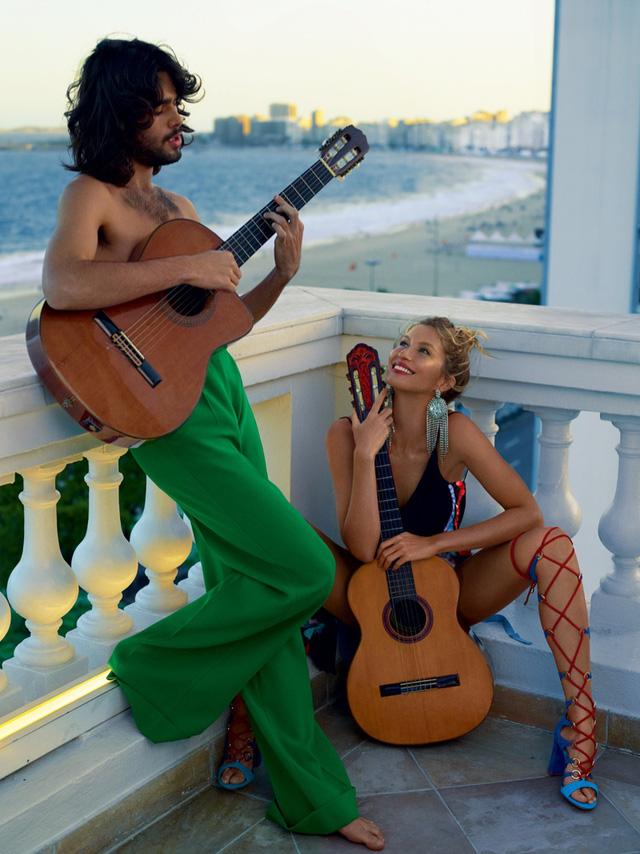 Gisele Bundchen tươi trẻ trên Vogue Brasil - Ảnh 7.