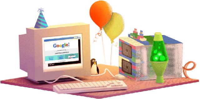 """Google diện """"áo mới"""" nhân ngày sinh nhật 18 tuổi - Ảnh 1."""