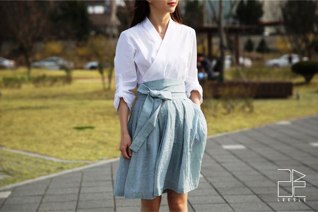 Khúc biến tấu của trang phục Hanbok truyền thống - Ảnh 2.
