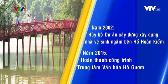 Nhiều dự án quanh Hồ Hoàn Kiếm bị tạm dừng hoặc hủy bỏ - Ảnh 1.