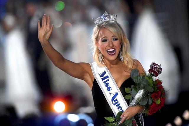 Cận cảnh nhan sắc cô gái 21 tuổi đăng quang Hoa hậu Mỹ - Ảnh 4.