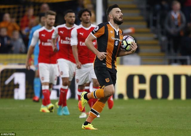 Sanchez lập cú đúp, Arsenal thắng dễ Hull City - Ảnh 4.