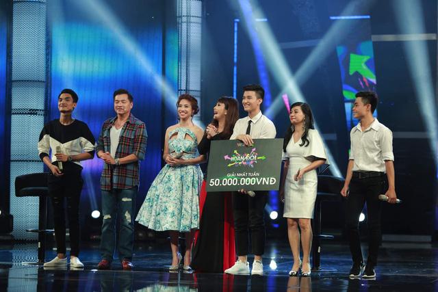 Hoán đổi: Không chịu thua bạn gái Á hậu, Huỳnh Anh ẵm 50 triệu đồng giải thưởng - Ảnh 5.