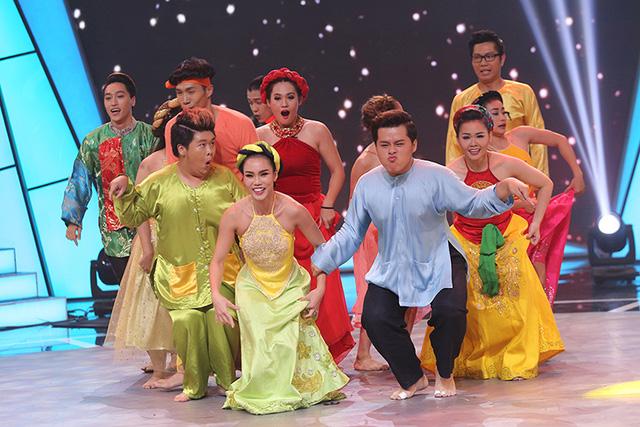 Bước nhảy ngàn cân: Trấn Thành bị Hari Won, Đàm Vĩnh Hưng hợp lực phản công - Ảnh 13.