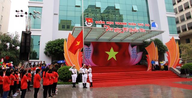 Hơn 3.000 bạn trẻ tham gia ngày hội giới trẻ Thủ đô Tôi yêu Tổ quốc tôi - Ảnh 2.