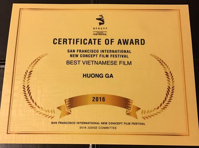 Phim Hương ga của Trương Ngọc Ánh đoạt giải tại Mỹ - Ảnh 1.