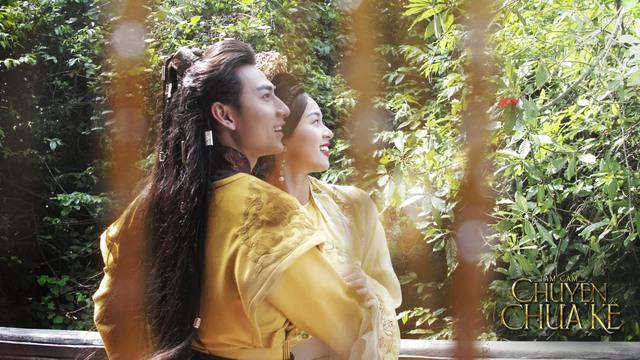 Isaac, Hạ Vi khóa môi ngọt ngào trong MV nhạc phim Tấm Cám - Ảnh 1.