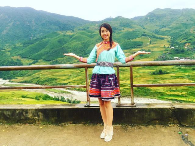 Hoa hậu Việt Nam 2016 Đỗ Mỹ Linh choáng ngợp trước vẻ đẹp của Sapa - Ảnh 4.