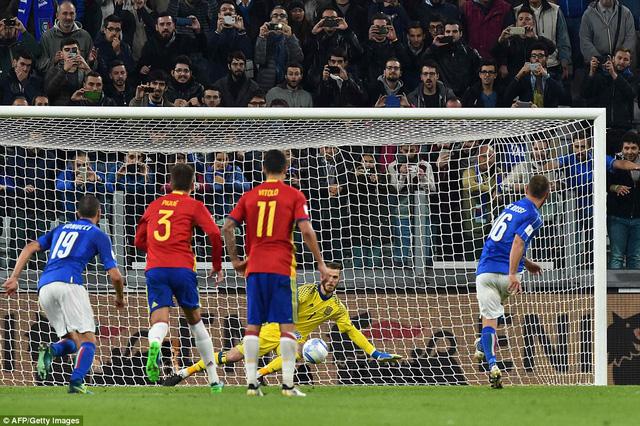 Vòng loại World Cup 2018: Italia 1-1 Tây Ban Nha: 2 bàn thắng từ 2 sai lầm - Ảnh 3.