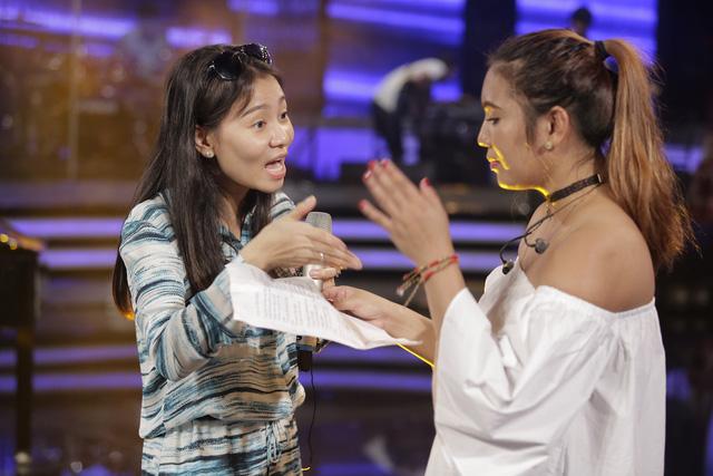 Vietnam Idol: Top 2 hào hứng song ca cùng Thu Minh - Ảnh 3.