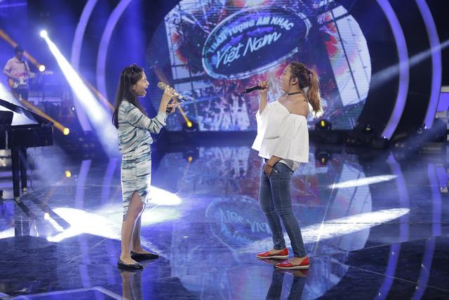 Vietnam Idol: Top 2 hào hứng song ca cùng Thu Minh - Ảnh 4.