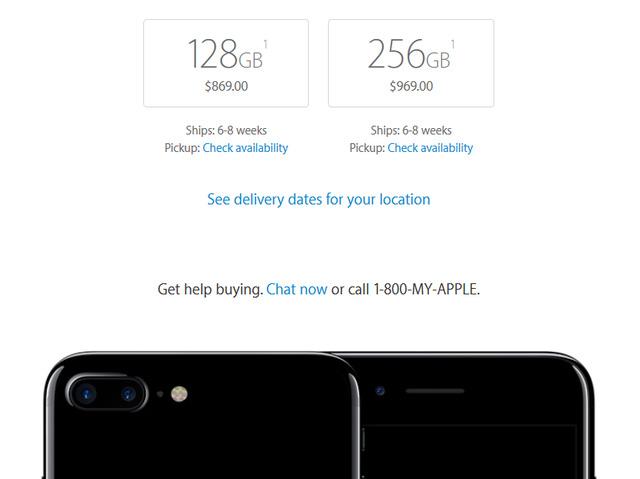 iPhone 7 Plus phiên bản Jet Black sẽ đến tay người dùng vào tháng 12 - Ảnh 1.