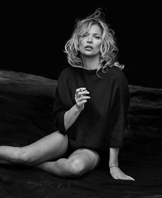 Kate Moss: Vẫn hoang dã và ngỗ ngược - Ảnh 7.