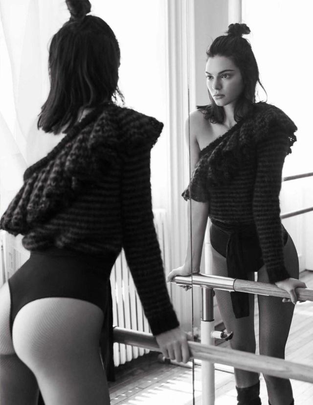Kendall Jenner khoe eo thon, dáng chuẩn trong bộ ảnh vũ công - Ảnh 4.