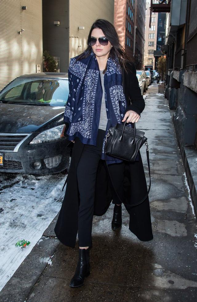 Săm soi phong cách thời trang Thu - Đông của Kendall Jenner - Ảnh 2.
