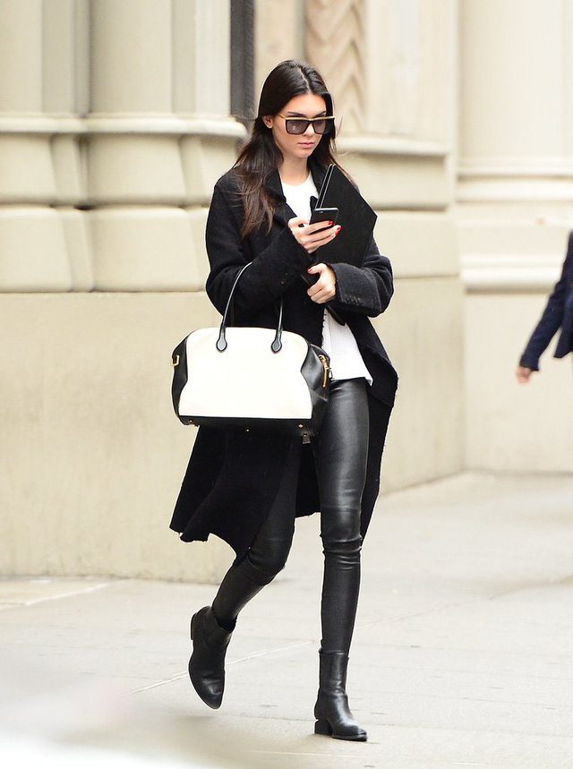 Săm soi phong cách thời trang Thu - Đông của Kendall Jenner - Ảnh 1.