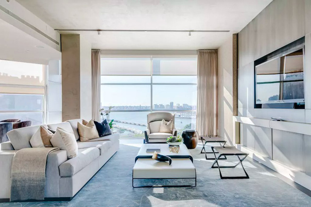 Khám phá căn hộ Penthouse siêu sang của Kim Kardashian - Ảnh 4.