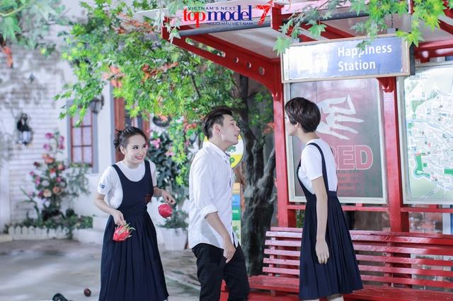 Angela Phương Trinh biến hóa cùng thí sinh Vietnams Next Top Model - Ảnh 3.