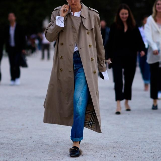 Săm soi áo khoác Thu - Đông cá tính ở Tuần lễ thời trang Paris - Ảnh 14.