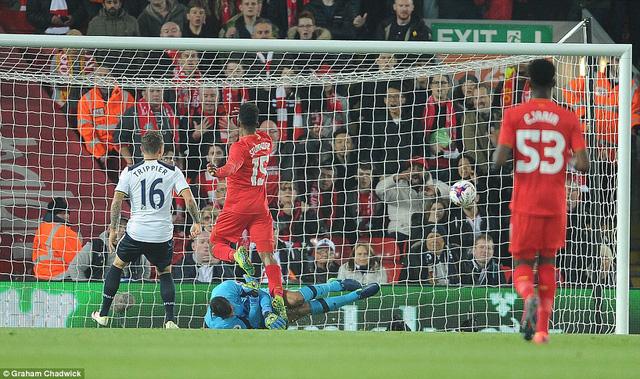 Vòng 4 League Cup: Liverpool loại Tottenham khỏi Cup liên đoàn - Ảnh 2.