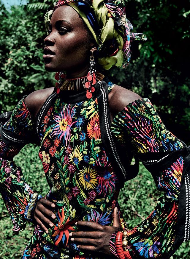 Lupita Nyongo rực rỡ sắc màu ở Kenya - Ảnh 8.