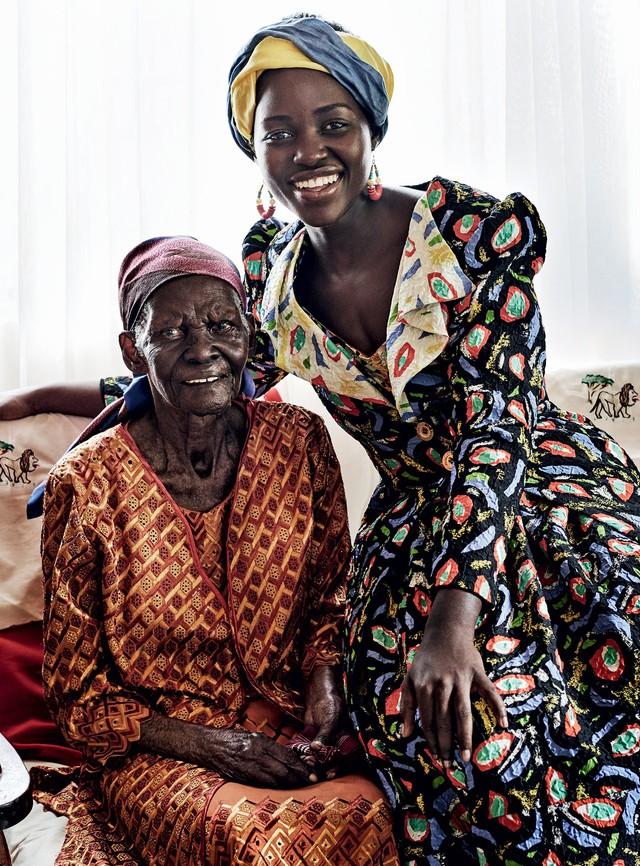 Lupita Nyongo rực rỡ sắc màu ở Kenya - Ảnh 7.